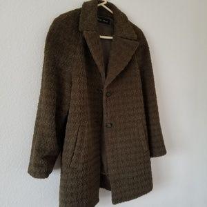 Vintage Peruvian alpaca coat jacket